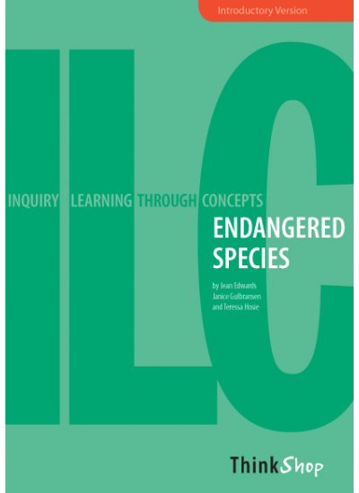 ENDANGERED SPECIES 1- intro, (inquiry unit) ebk
