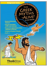 Greek Myths Alive! - ebook