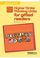 HOT Units for Gifted Readers:Sophisticated Picture Books- eBook